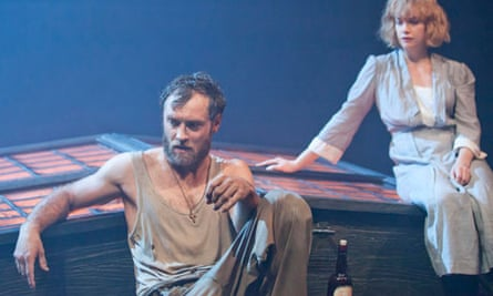 Jude Law and Ruth Wilson in Eugene O'Neill's Anna Christie