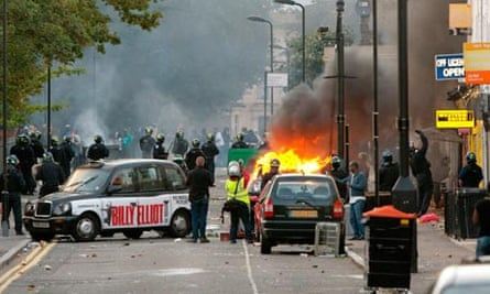 Riots And Looting hackney london