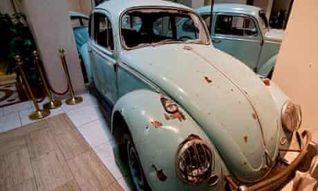 Muammar Gaddafi's Volkswagen Beetle was one of