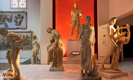 Roman Statues Libya's National Museum