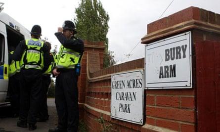 Slavery arrests at Green Acre caravan site
