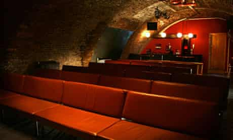 Interior of the Whirled Cinema in Loughborough Junction, London
