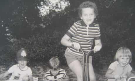 Stephanie Theobald as a child