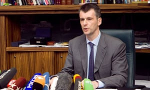 Mikhail Prohorov 'will not quit' as the Right Cause party leader