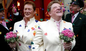 the recognition of gay and lesbian couples to legally wed