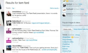 Tom Ford Tweets
