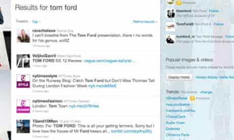 Tom Ford Tweets