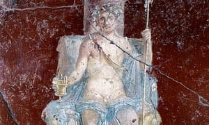 Bacchus, the god of wine and the grape harvest, also known as Dionysus