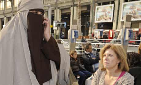 Kenza Dride, who opposes the French burqa ban