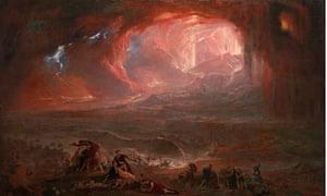 The Destruction of Pompeii and Herculaneum, John Martin