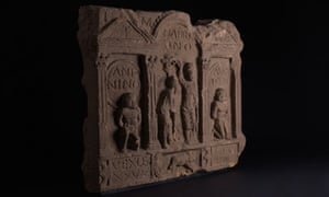 A slab of the Antonine Wall with relief sculpture