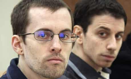 Shane Bauer and Josh Fattal. Shane Bauer and Josh Fattal. Shane Bauer and Josh Fattal