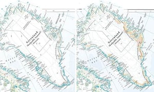 Times Atlas Reviews Greenland Map Accuracy After Climate Change - Greenland map