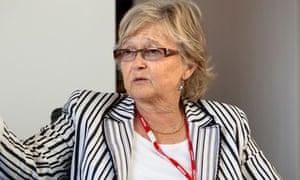 Schools commissioner Liz Sidwell