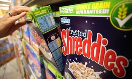 Reaching for the Shreddies