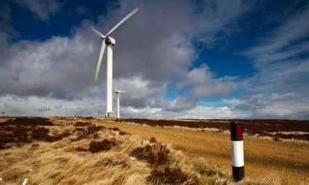 Ovenden windfarm near Halifax, Yorkshire