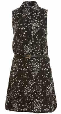 Miss Selfridge Bird Print Dress