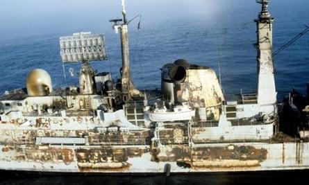 Falklands War and HMS Sheffield