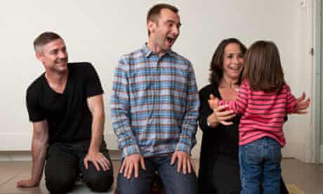 Charlie Condou and family