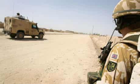 Soldier in Lashkar Gah, Afghanistan