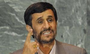 Mahmoud Ahmadinejad, President of the Is