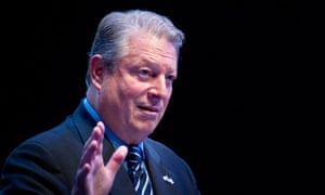 Al Gore at low-carbon conference in Scotland