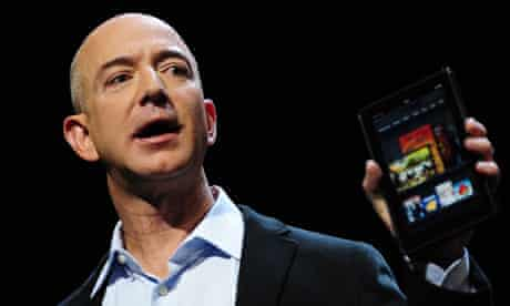 Amazon CEO Jeff Bezos introduces the new Kindle Fire tablet