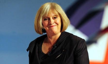 Home secretary Theresa May's diary has been lost