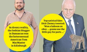 Tom MacMaster and Dick Cheney