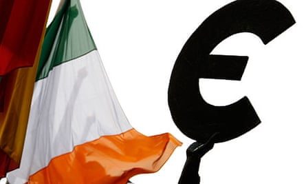 An Irish flag