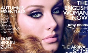 Adele on Vogue cover- DO NOT USE