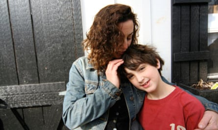 Marian Fontana and her son Aidan