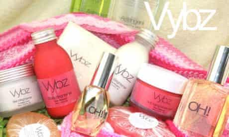 Vybz Kartel skin bleaching products