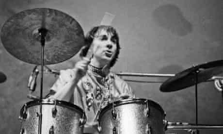 Keith Moon at the Monterey pop festival in 1967