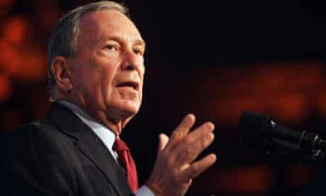 Mayor Bloomberg Gives Address On Lower Manhattan Rebirth Ten Years After Sept. 11