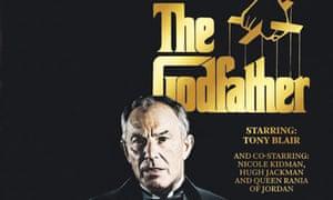 Tony Blair as The Godfather