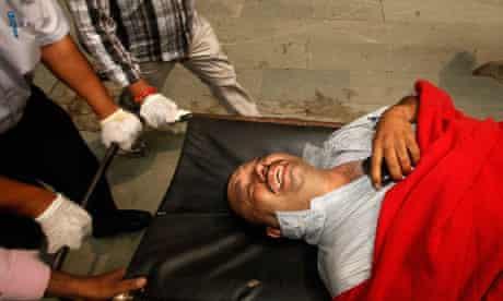 Delhi injured