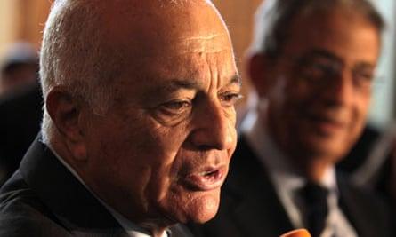 Arab League secretary general, Nabil Elaraby