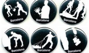 barcelona badges