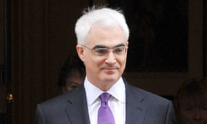 Alistair Darling at No 11 in 2008