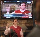 Rick Santorum speaks at a town hall meeting in Marshalltown, Iowa.
