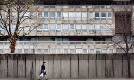 Council housing estate in London