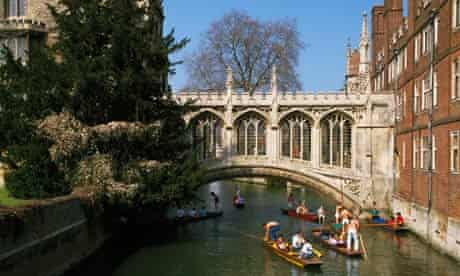 The Bridge of Sighs at St John's College, Cambridge