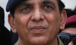Pakistan army chief, General Ashfaq Kayani