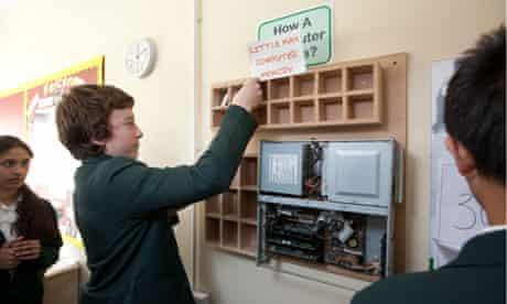 computer teaching school