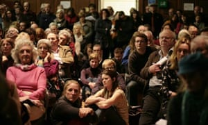 Public meeting in Balcombe, West Sussex