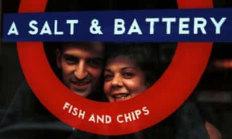 A Salt & Battery chip shop in New York