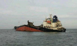The Doora 3, oil tanker, South Korea
