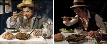 The Bean Eater by Annabale Carracci – and Mark Bass