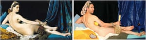 La Grande Odalisque by Ingres and Craig White